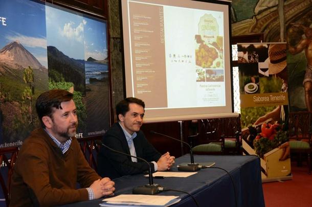 Carlos Alonso y José Joaquín Bethencourt, ayer en rueda de prensa. / DA