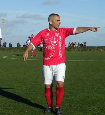 Cristo Marrero en su última etapa como jugador en Las Zocas. / P.P.