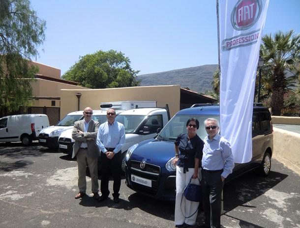 Momento del acto de presentación de los nuevos modelos Fiat Doblò y Qubo Trekking. /  WWW.MOTORCHICHARRERO.COM