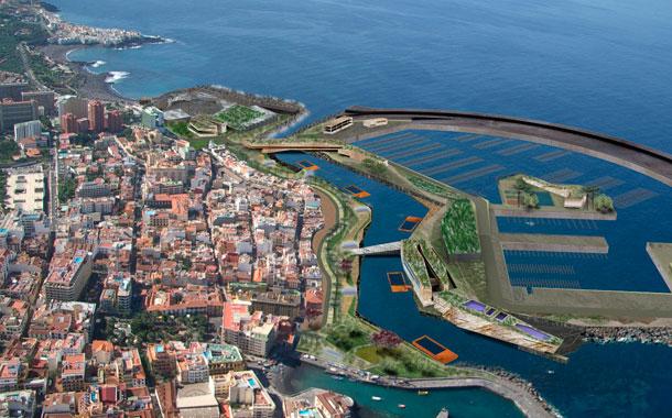 Fotomontaje puerto deportivo