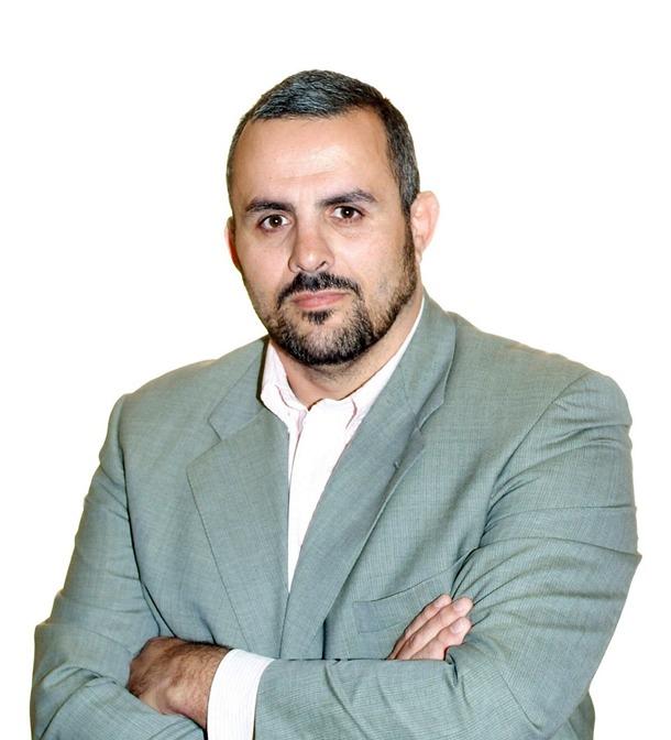 Francisco Javier Hernández Hernández, concejal de IUC en Arafo.   DA