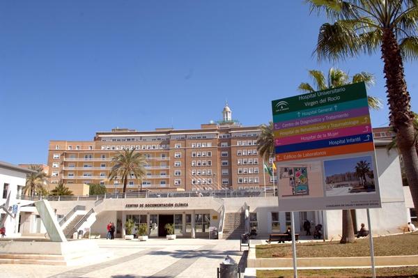 Saida ingresó el 7 de febrero en el Virgen del Rocío de Sevilla. | M. PÉREZ