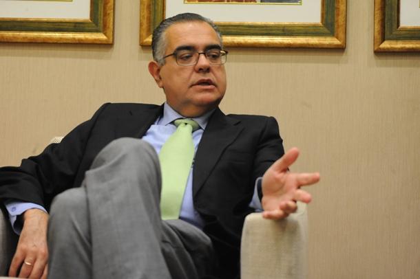 José Carlos Francisco, presidente de la CEOE de Tenerife. | JAVIER GANIVET