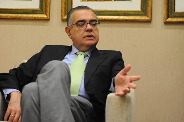 El presidente de CEOE-Tenerife, José Carlos Francisco. | JAVIER GANIVET