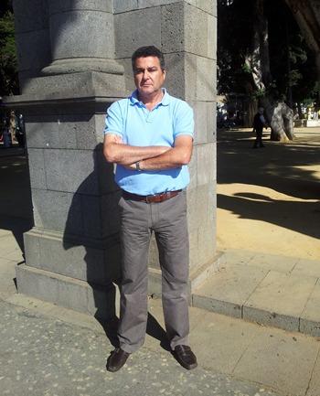Juan Pedro Morales Chacón es práctico del puerto santacrucero desde hace casi 14 años. | DA
