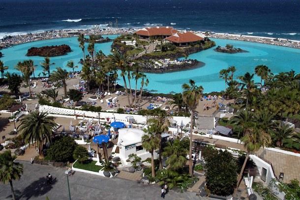 El Lago Martiánez, la tercera infraestructura turística más visitada de Tenerife. / MOISÉS PÉREZ