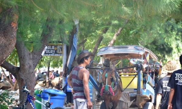 Los 'vaqueros' de Kuta