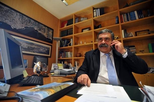 Pedro Rodríguez Zaragoza, presidente de la Autoridad Portuaria de Santa Cruz de Tenerife. / F.P.
