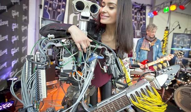 Los robots tocan con fuerza en el mundo de la música