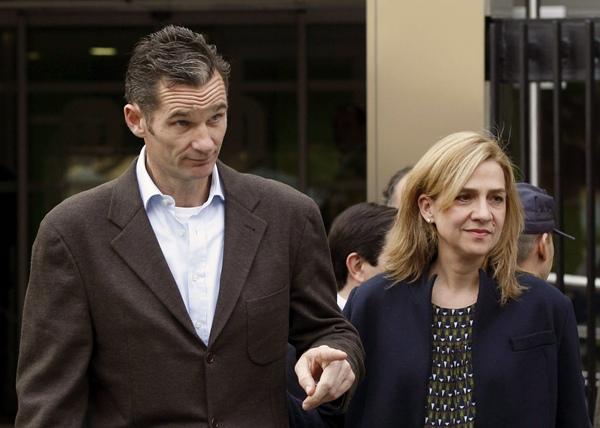Fotografía de archivo de la infanta Cristina y su esposo, Iñaki Urdangarín.   DA