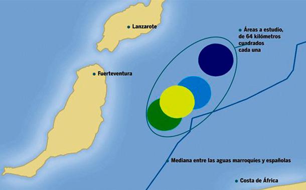 ZONA PROSPECCIONES PETROLEO CANARIAS