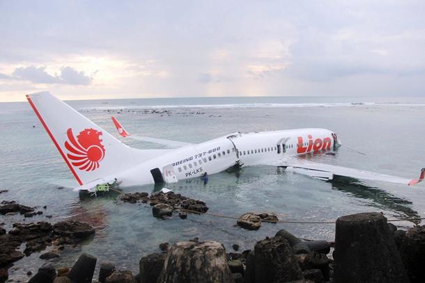 Imagen de la aeronave de Lion Air.   EPA/INDONESIAN POLICE HANDOUT