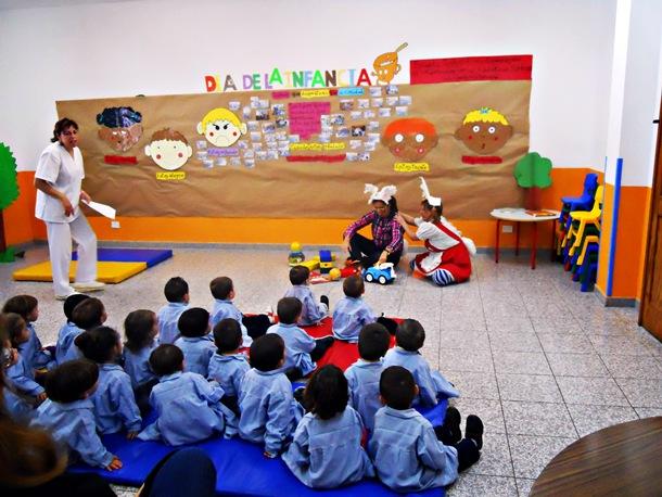 Las escuelas infantiles de la provincia tienen problemas con los educadores no resueltos. / DA