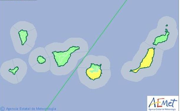 La Aemet activó el aviso amarillo por altas temperaturas el viernes. | DA