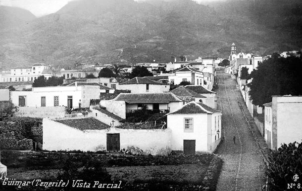 Casco de Güímar, sobre 1910