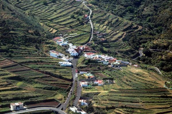 Los caseríos son zonas afectadas por el fuerte paro.   MOISÉS PÉREZ