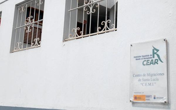 El Centro de Migraciones de Santa Lucía es el único recurso para refugiados que queda en el Archipiélago. | DA