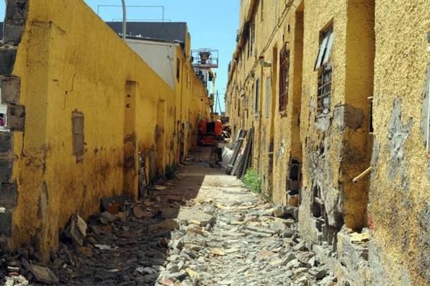 La construcción de estas viviendas data de la década de los años 50 del siglo pasado. | J.G.