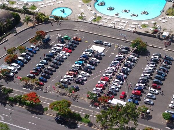 Aspecto de la Feria el pasado año en el exterior del Parque Marítimo. | DA