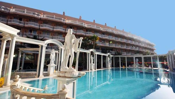 El hotel Cleopatra Palace será el escenario para la entrega de los premios. / DA