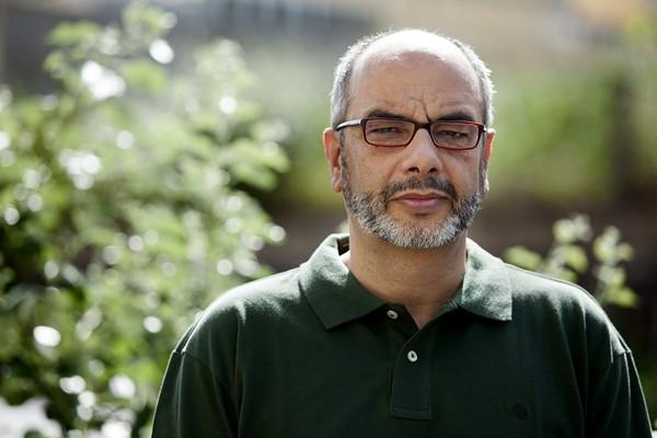 El profesor de Análisis Matemático de la Universidad de La Laguna José Barrios, durante la entrevista. | EFE
