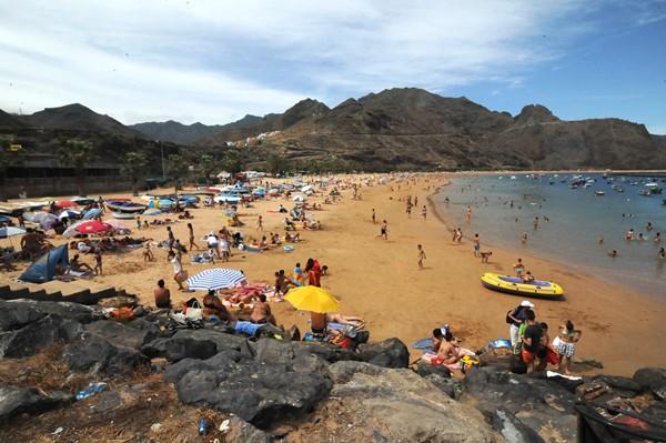 El nuevo parque infantil para la playa tiene un presupuesto de en torno a los 25.000 euros. | JAVIER GANIVET