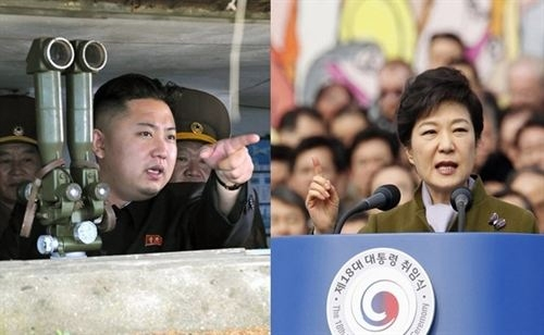 Combo de los líderes de Corea del Norte y del Sur, Kim Jong Un y Park Geun Hye. | REUTERS (EUROPA PRESS)