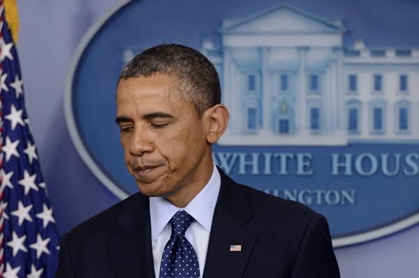 El presidente de EE.UU., Barack Obama, durante su comparecencia sobre las explosiones en Boston.   EFE