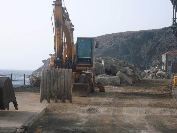 Las obras del paseo de San Blas finalizarán en un mes. / NORCHI