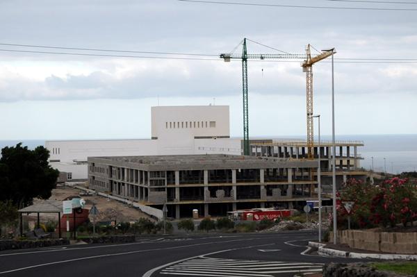 El Hospital del Sur, todavía en obras. | DA