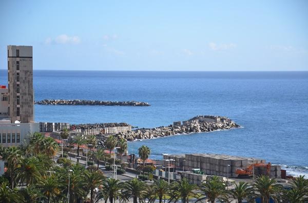 El parque subacuático nace a raíz de la creación de la playa de Santa Cruz de La Palma. | D. S.