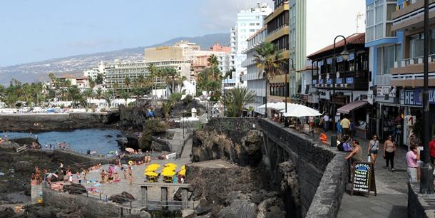 La primera fase del Paseo San Telmo se incluye en las cuentas de este año. / M.P.P.