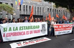 Ninguno de los cuatro sindicatos presentes en la mesa sectorial apoya la convocatoria. | S.M.