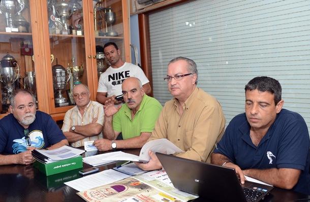 Daniel Delgado y Germán Rodríguez trabajan coordinados. / S. M.