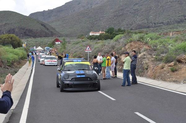 Momento de la Subida a Arona del pasado año. / motorchicharrero.com
