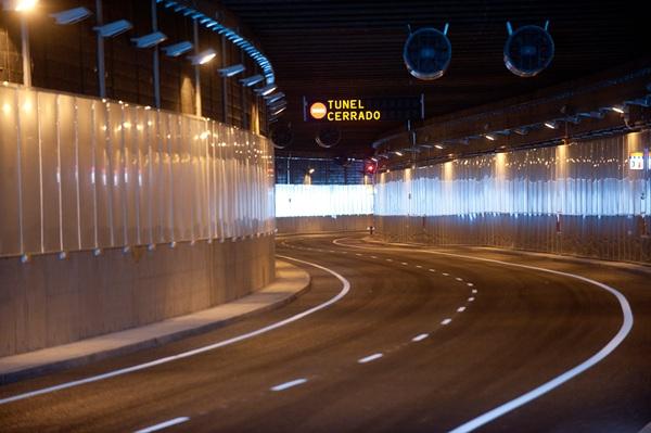 En una reciente visita se pudo comprobar que la obra del túnel está prácticamente terminada. | F. P.