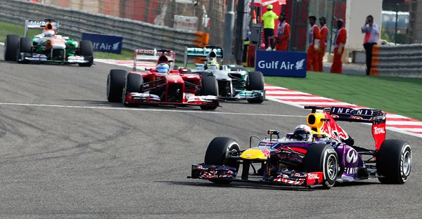Una imagen del Gran Premio de Bahrein. |DA