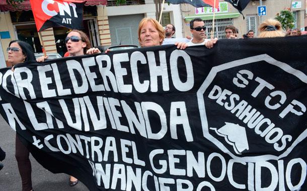 1 MAYO 2013 PROTESTA SANTA CRUZ DE TENERIFE