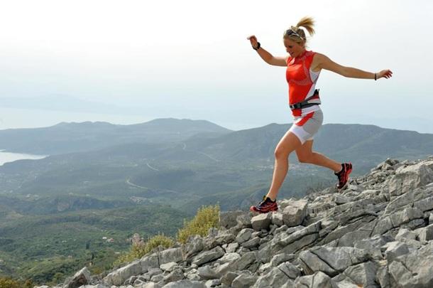 Anna Frost ganó la Transvulcania 2012 con un crono de 8 horas 11 minutos y 31 segundos.   DA