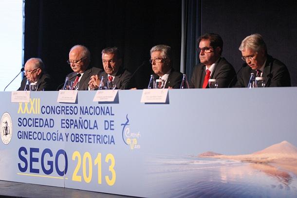 El presidente del Gobierno abrió oficialmente el XXXII Congreso Nacional de Ginecología. / DANIEL CETRULO