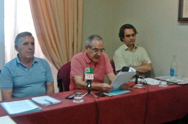 Rueda de prensa vecinos Montaña Carbonero.   NORCHI
