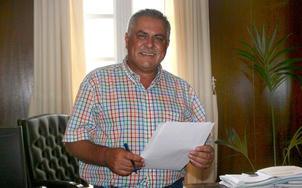 El alcalde de Granadilla, Jaime González Cejas