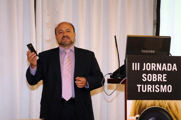 José Igareta, director de Atecresa, creadores de la solución Camarero Virtual. | J. G.