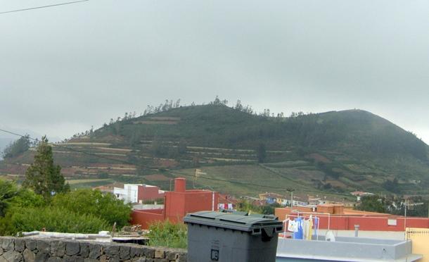 La montaña de Carbonero o Carboneras, en La Esperanza. / DA