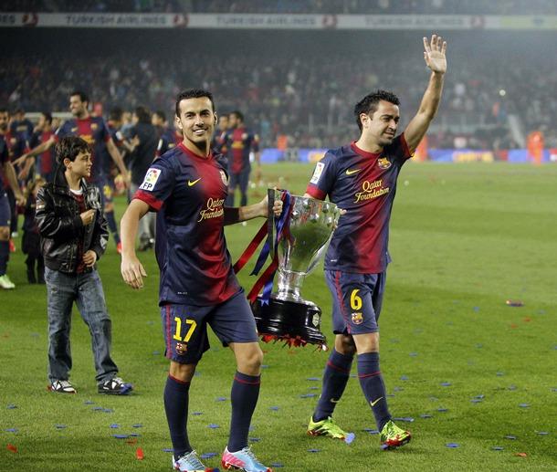 Pedro Rodríguez, reciente campeón de Liga con el Barcelona y finalista en esta edición, estará en la gala. / DA