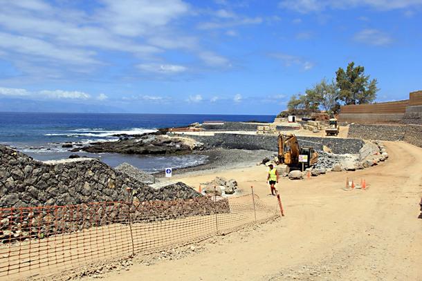 La playa será de arena natural en este entorno único. / DA