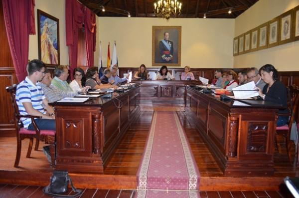 Pleno Ayuntamiento de Güímar Carmen Luisa Castro alcaldesa
