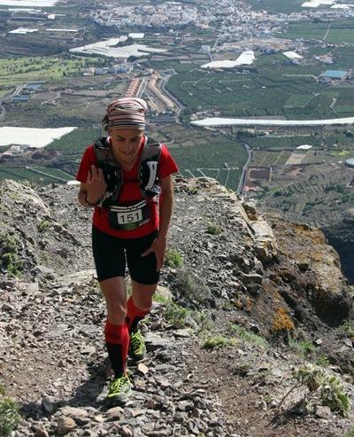 Raquel Rivero Delgado, corredora del Aiiiiiiiadelante Team. | DA