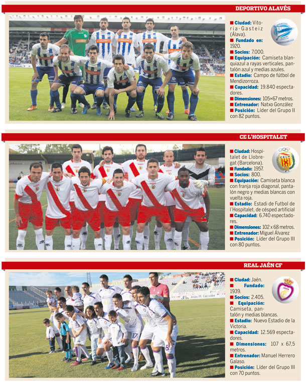 RIVALES CD TENERIFE PLAY OFF