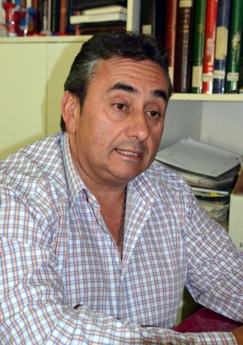 Tomás Mesa, alcalde de San Juan de la Rambla.   MOISÉS PÉREZ